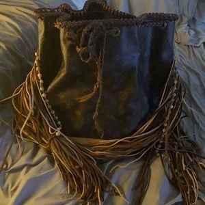 Vintage boho Louis Vuitton bags